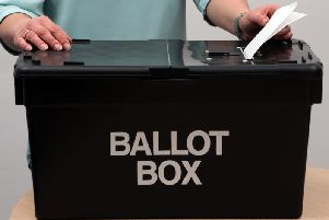 Votes for Harborough District Council were counted on Friday.