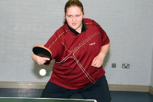 Nicole Bird won three titles at the Northamptonshire County Closed Tournament