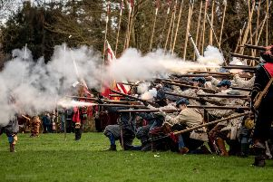 Back in 1643, the ancestral home of the Brudenell family was seized by Parliamentarian forces and stripped of its furniture, paintings and library. The battle for Deene Park will be created by the Sealed Knot group over the bank holiday weekend. NNL-190516-171720005