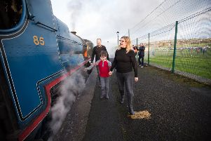 Visitors will get the opportunity to hop on board a 100-year-old steam engine.