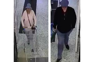 Police want to speak to these two people.