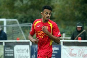 Amer Awadh has signed a two-year contract at Banbury United