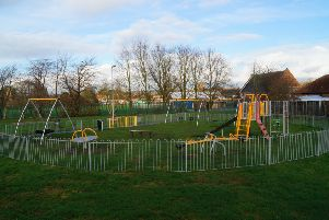 Market Rasen's Mill Road play area