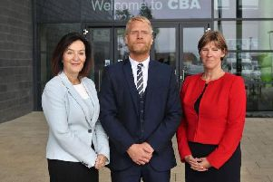 A new management team took over at Corby Business Academy last year.