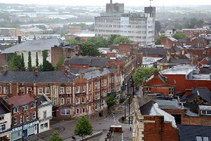 Kettering's town centre has ben hit by a number of closures.