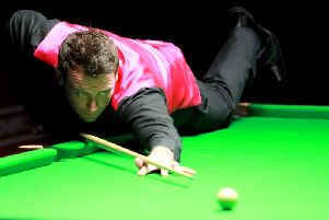 Jamie O'Neill is back on the World Snooker Tour for the first time since 2014. Picture courtesy of World Snooker