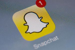 Snapchat is hugely popular among children and young people. Picture: LIONEL BONAVENTURE/AFP/Getty Images