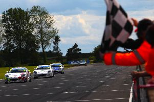 Will Martin crosses the finish line to clinch victory. Picture courtesy Jakob Ebrey Photography
