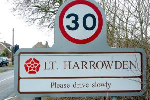 Detectives are on the scene in Little Harrowden