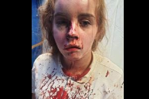 Holly Ward was attacked in Rushden.
