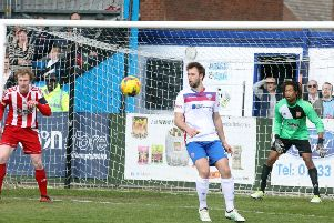 All-time leading goalscorer Tom Lorraine is staying on for another season with AFC Rushden & Diamonds