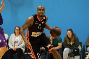 Head of basketball Zaire Taylor will lead things at Worthing Thunder following the departure of chairman Frank Gainsbury