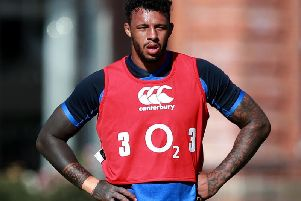 Courtney Lawes has been named in England's World Cup training squad