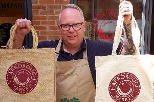 Harborough Market will be giving away reusable bags on July 20, 2019