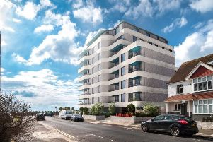 Kingsway Block artists impression as viewed from Braemore Road