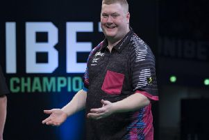 Ricky Evans will play Daryl Gurney when he makes his debut in the Betfred World Matchplay