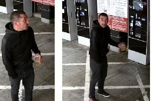Do you know this man? Northamptonshire Police want to speak with him about an attempted armed robbery.
