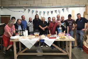The Men's Shed has been given a funding boost.