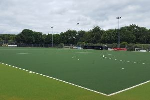 The new playing surface at Bretton Gate.