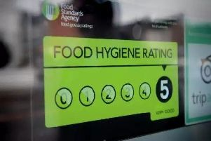 These are these takeaways with a 5 for its Food Hygiene Ratings.