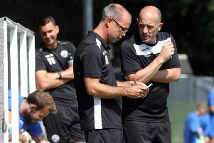Paul Lamb is to step down as Andy Peaks' assistant-manager at AFC Rushden & Diamonds