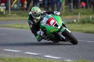 Derek McGee claimed pole position in four classes at the Faugheen 50 Road Races.