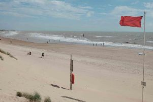 The tragic incident happened at Camber Sands near Rye