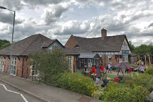 The pub in Farm Road where the incident took place