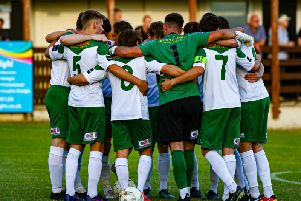 Bognor at Hordean in their most recent friendly / Picture by Tommy McMillan