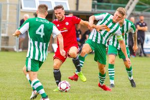 Action from City's draw with Worthing / Picture by Neil Holmes
