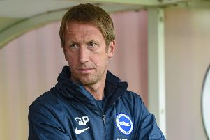 Graham Potter has already made a posive impact at Brighton (Phil Westlake)