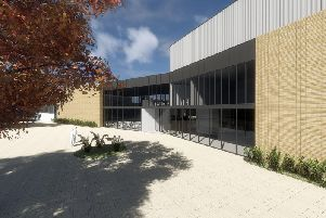 What the entrance will look like