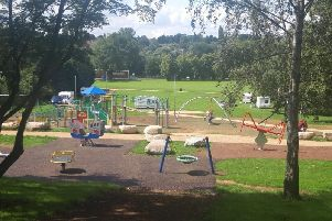 Travellers have moved onto the park.