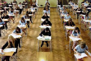 Pupils are receiving their A-Level results today. Credit: Chris Radburn/PA Wire PPP-181018-123719003