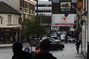 The incident at Bute Street
