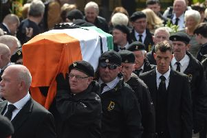 The Funeral of Alex Murphy. 'Pic: Colm Lenaghan/Pacemaker