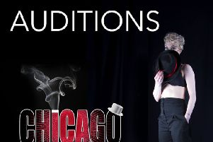 The Playhouse is holding additional open auditions for all roles in its Autumn production of the Broadway hit Chicago, which will run at The Playhouse from Tuesday, November 26 to Sunday, December 1.