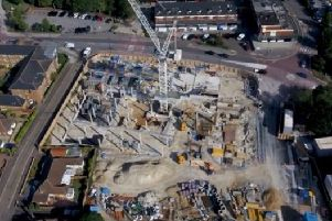 Screenshot of the video the drone took of the development of All Saints View. Photo from All Saints View Facebook page