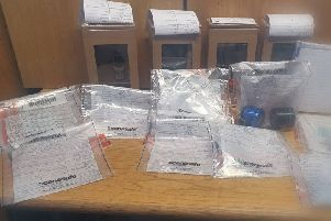 The drugs were seized in Ballyduff on August 23.