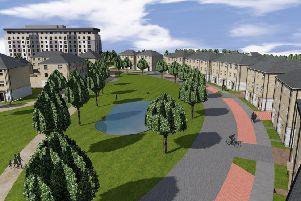 The proposed housing scheme at Tata Steel Gate One