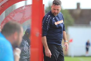 Kettering Town manager Nicky Eaden