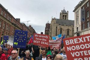 #stopthecoup campaigners marched on other UK cities yesterday and more protests will take place on Tuesday, including one in a Corby.