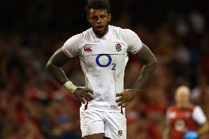 Courtney Lawes starts for England at St James' Park on Friday night