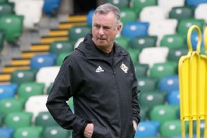 Northern Ireland manager Michael O'Neill. Pic by PressEye Ltd.