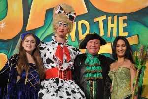 The cast of Jack and the Beanstalk PHOTO: Jonny McGrady