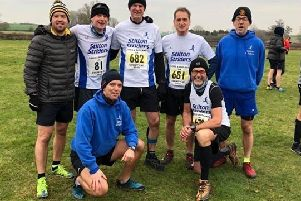 The Stilton Striders offer running for all tastes - from social through to competitive - including this team of runners at the Leicestershire Cross Country Championships EMN-191009-110403002