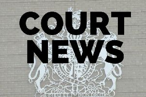 Two men have been charged with driving offences after a police pursuit of a stolen car yesterday in Corby