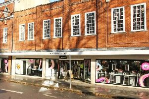 House of Fraser store in West Street, Chichester, before it closed down earlier this year. Photo: Derek Martin