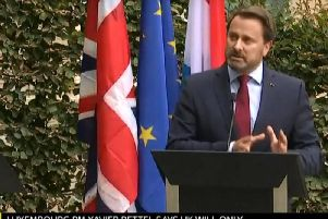 Prime Minister, Boris Johnson, refused to take part in a joint press conference with the prime minister of Luxembourg, Xavier Bettel, on Monday afternoon.