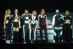 The last time S Club 7 fully reformed, on tour in 2015. Picture: Wikimedia Commons